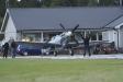Spitfire på besök vid segelflygklubben