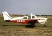 SE-EKI Beech C33 besökte Bunge redan 1966