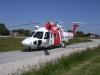 Räddningshelikoptern SE-HAV på besök.