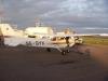 Tankning av Aeroklubbens Cessna SE-GYX Säve.