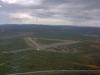 Flygfältet sett från väster