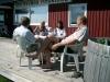 Alltid trevligt bemött vid flygklubben. Besök med SE-EOT från Malung.  2008-07-26.