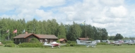 Siljan Air park , Siljansnäs flygfält ESVS