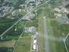 Tby Flygplats från Norr.