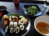 12 bitar vegetarisk sushi för 89 kronor