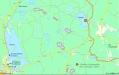 UVX-fiskesjöar. Gästrikeleden är orange.4 är Oppsjön badplats