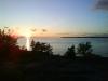 Solnedgång över TP-badet