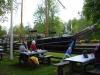 slussning vid Hajstorps café