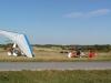 Stånga flygfält på improviserat flyin 3/8 -08