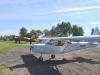 Mitt lilla flygplan från Borås Ultralätt Flygklubb med Kjells AN-2 i bakgrunden