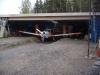 Smart modell på hangar.