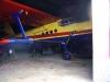 Kjells AN-2:a parkerad i hangaren.