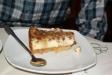 En cheesecake.