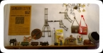 Del av många fina inredningar på Ruter Retro Café