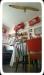 Ett av alla de rum där du kan fika på Ruter Retro Café
