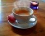 Kaffe och Macaron
