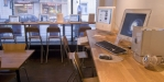 Bild över det fina Macarna man kan hyra i caféet