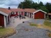 Vandrarhems-byggnaden på Rögrund.
