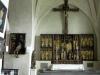 1449 dekorerades väggar och valv av Johannes Iwan