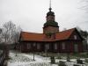Kyrkan hör administrativt till Ljusterö-Kulla församling
