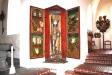 Triumfkrucifixet är från 1300-talets förra hälft.