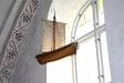 Kyrkan har ett votivskepp