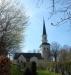Oproportioneligt torn på Ekerö kyrka