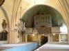 Den vackra predikstolen i plattrelief