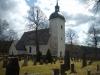 Kyrkan sett från norr.