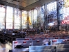 Glasmosaikväggar inspirerad av Johannes uppenbarelse och vision av det nya Jerusalem Juli 2010