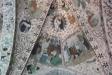 Överst; Kristus upptager Maria. Under; Marias död och begravning