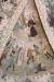 Överst; Abraham och Isak går till offret; typografi för Jesu golgatavandring. Under vänster; Elisha