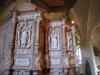 Korgen är smyckad med 8 figurer i vitt lövträ September 2010