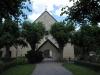 Kyrkan ligger i en trakt som är rik på fornminnen Juli 2010