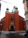 Kyrkan byggdes i två etapper. Grunden lades under 1580-talet