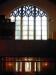 Snygg fönster över orgelläktaren. Foto:Bertil Mattsson