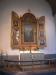 Altarskåp från 1926 med målningar av Einar Forseth