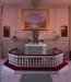 Altarpredikstol och altartavla av prins Eugen. Foto:Bertil Mattsson