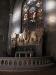 Altarrelief delvis med fristående figurer där livet och döden är ämnet. Av Johan Lundqvist Juli 2010