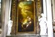 Altartavlans motiv är Herdarnas tillbedjan.