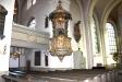Predikstolen uppsatt år 1763.