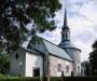 Bromma kyrka på 90-talet. Foto: Åke Johansson.