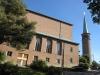 Essinge kyrka uppfördes 1957-58 September 2010