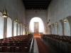 Kyrkorummet mot koret med predikostolen till vänster Sep 2010