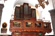 Orgeln med sina tre manualer