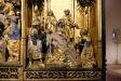 Efter korsnedtagningen. (Till höger i bild: koret och absiden.)