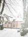 Lidingö kyrkan i vinterskrud