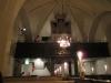 Fasaden av den älsta orgeln från 1855 fins kvar men orgelverket utbyttes 1892 och ombyggdes 1937