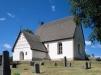 Malsta kyrka på 90-talet. Foto: Åke Johansson.