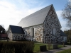 Kyrkan är uppförd av gråsten